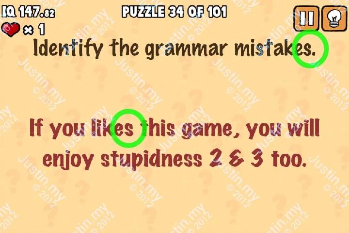 Whats My IQ Cheats Level 34