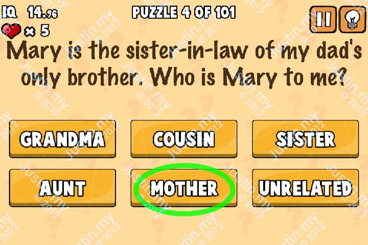 Whats My IQ Cheats Level 4 v2