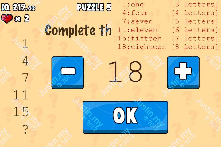 Whats My IQ Cheats Level 50