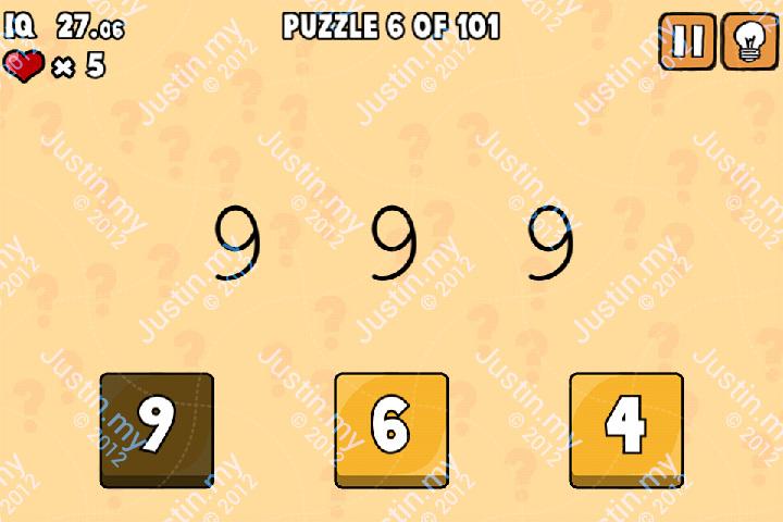 Whats My IQ Cheats Level 6