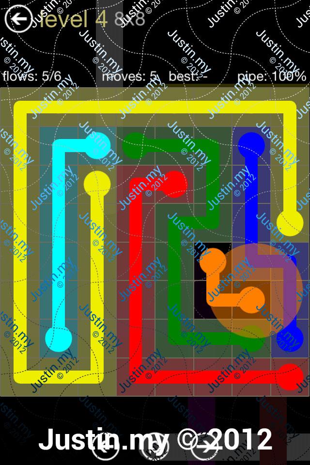 Flow 8x8 Mania Level 004
