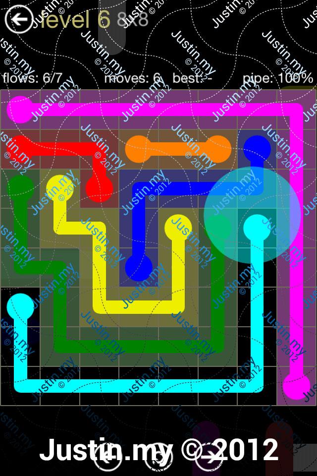 Flow 8x8 Mania Level 006