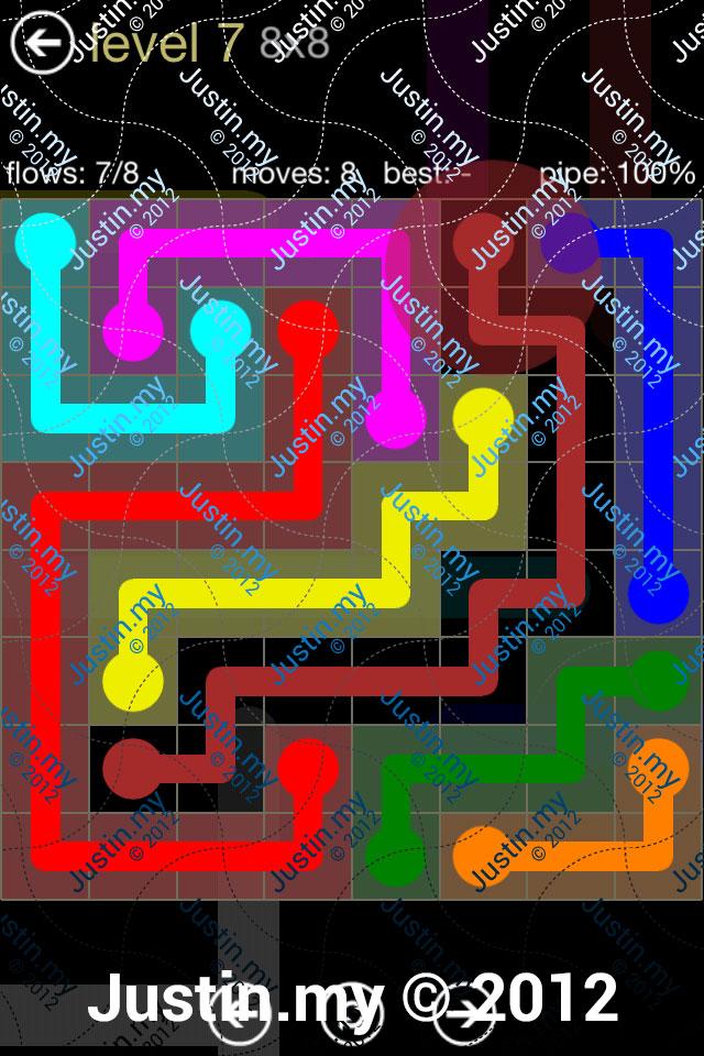 Flow 8x8 Mania Level 007