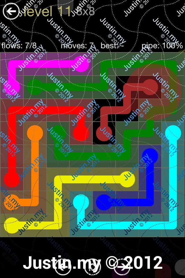 Flow 8x8 Mania Level 011