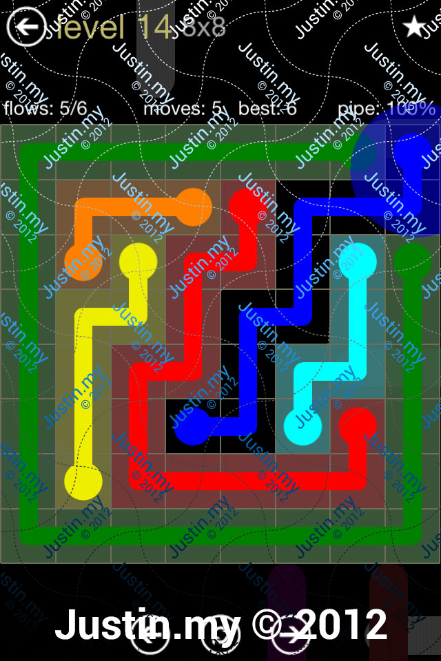 Flow 8x8 Mania Level 014