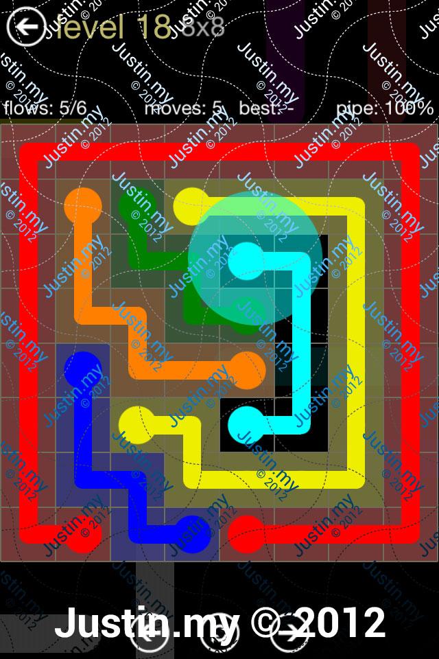 Flow 8x8 Mania Level 018