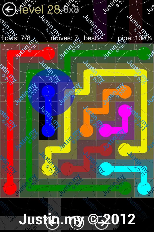 Flow 8x8 Mania Level 028