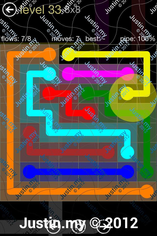 Flow 8x8 Mania Level 033