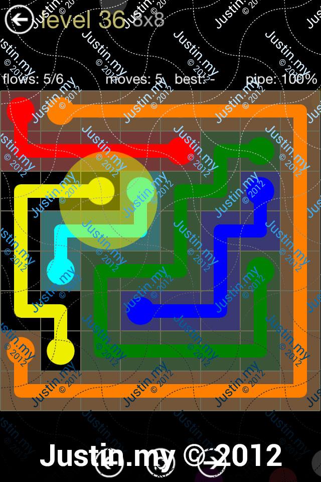 Flow 8x8 Mania Level 036
