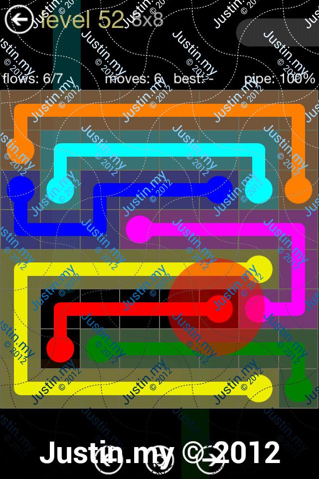 Flow 8x8 Mania Level 052