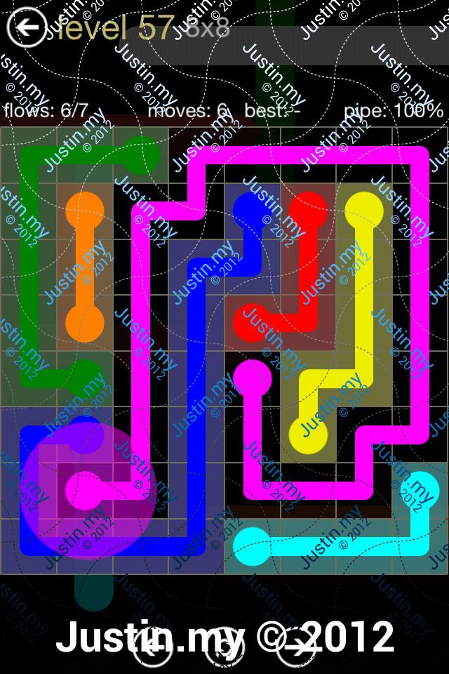 Flow 8x8 Mania Level 057