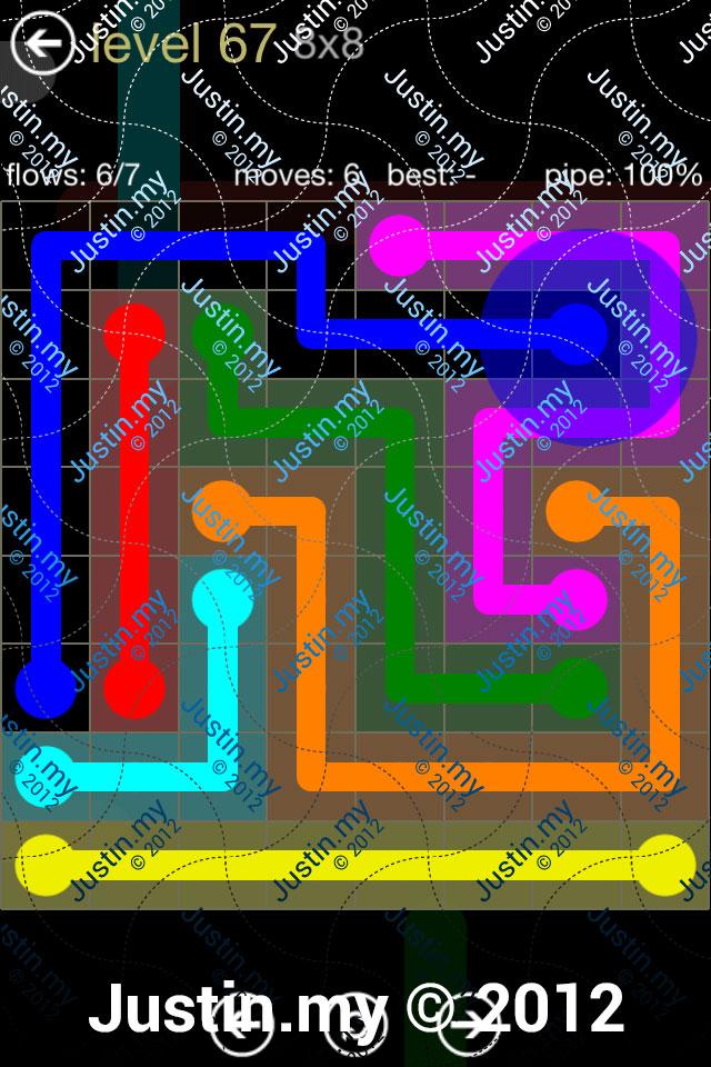Flow 8x8 Mania Level 067