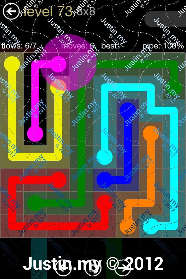 Flow 8x8 Mania Level 073