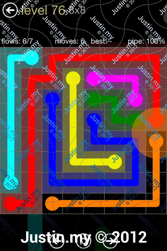 Flow 8x8 Mania Level 076