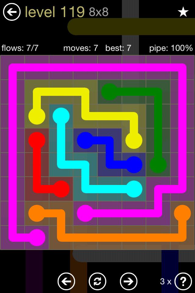 Flow 8x8 Mania Level 119