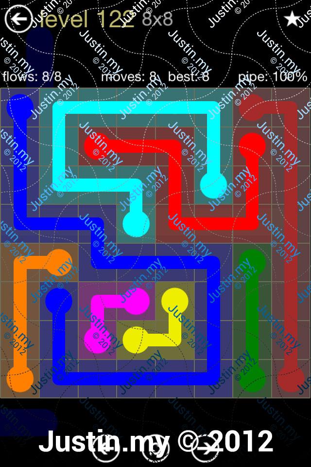 Flow 8x8 Mania Level 122