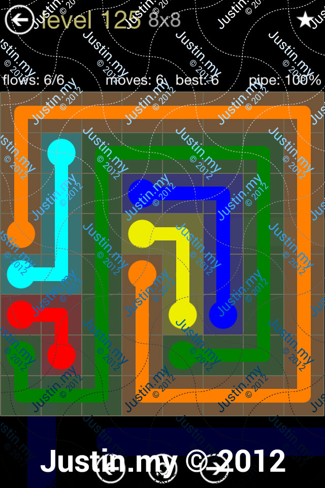 Flow 8x8 Mania Level 125