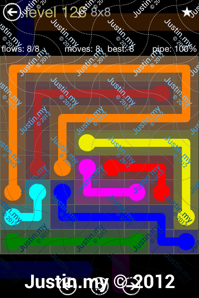 Flow 8x8 Mania Level 126