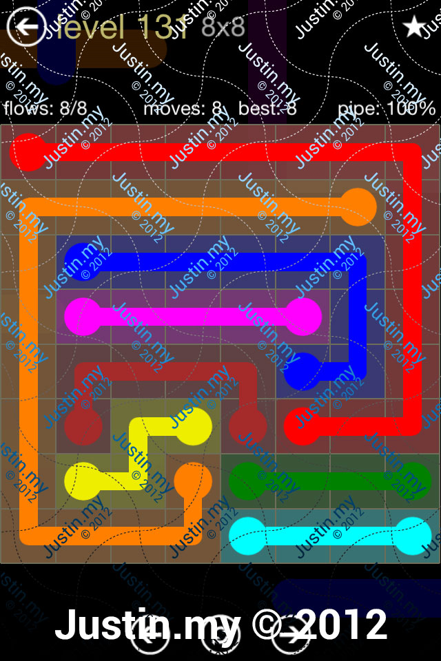 Flow 8x8 Mania Level 131