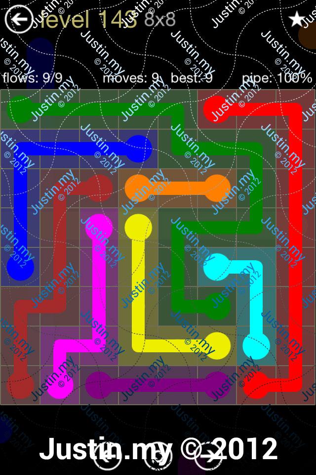 Flow 8x8 Mania Level 143