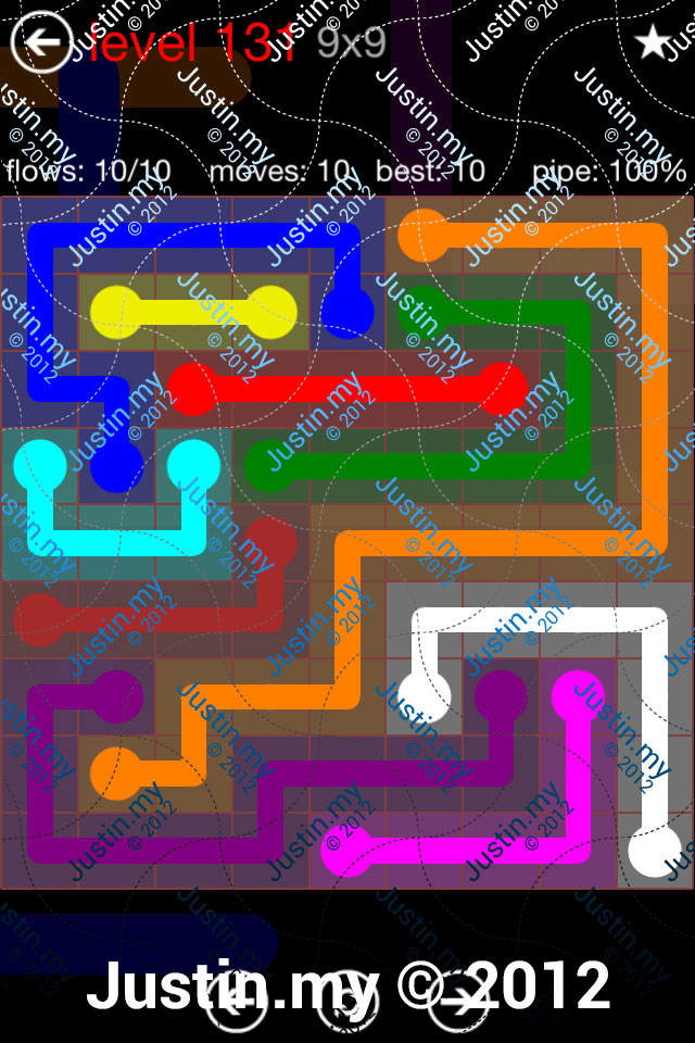 Flow 9x9 Mania Level 131