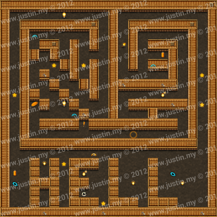 Reveal the Maze Level 3-3