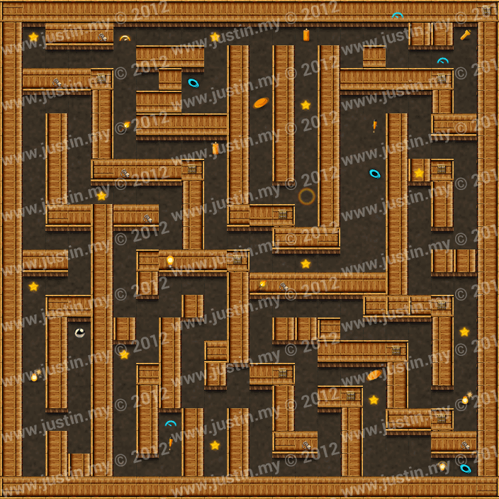 Reveal the Maze Level 3-5