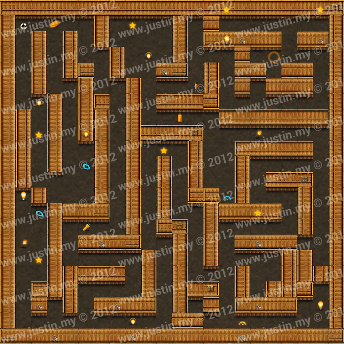 Reveal the Maze Level 3-6
