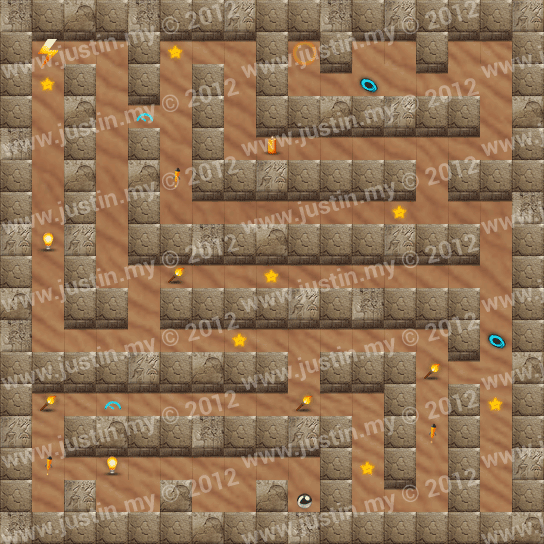 Reveal the Maze Level 6-1