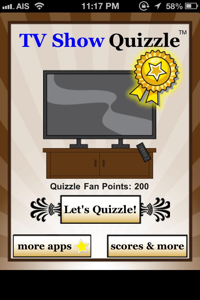 TV Show Quizzle