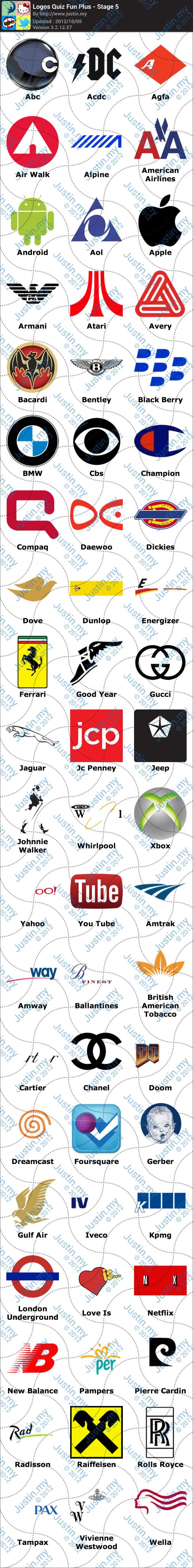 Logos Quiz Fun Plus Stage 5