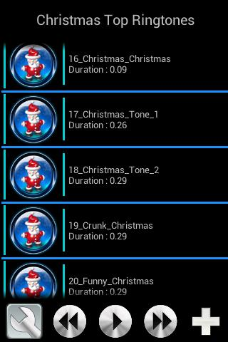 1 Christmas Top Ringtones 01