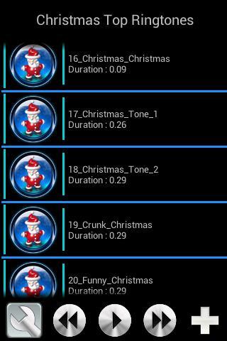1 Christmas Top Ringtones 01