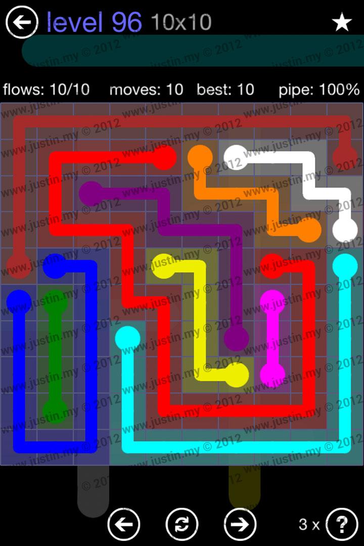 Flow 10x10 Mania Level 96