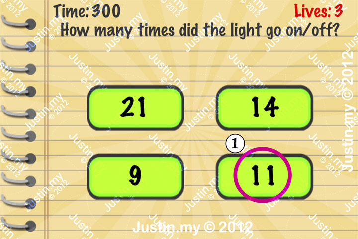 Impossible Test Answers Level 37