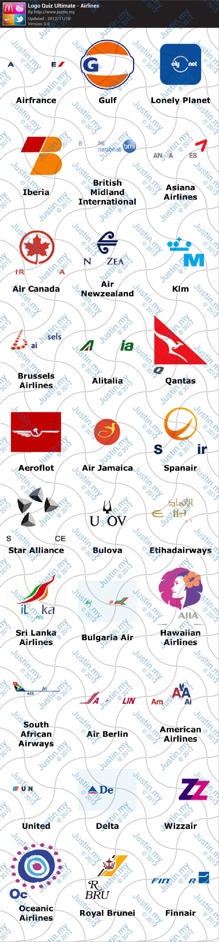 Logo Quiz Ultimate Airlines