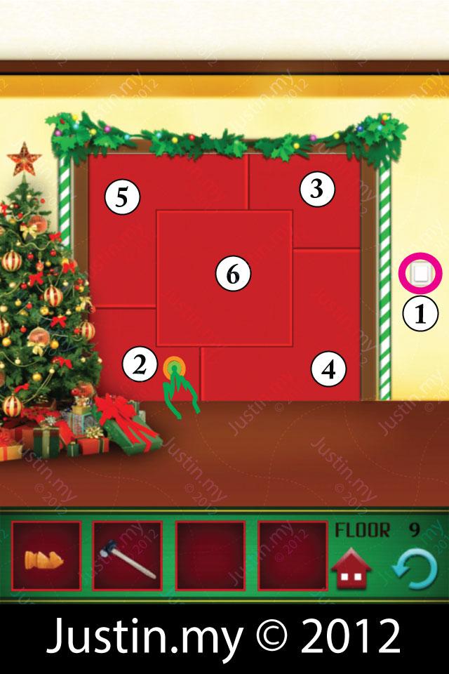 100 Floors Christmas Level 9