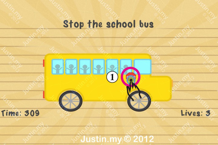 Impssible Test 2 - Stop the school bus