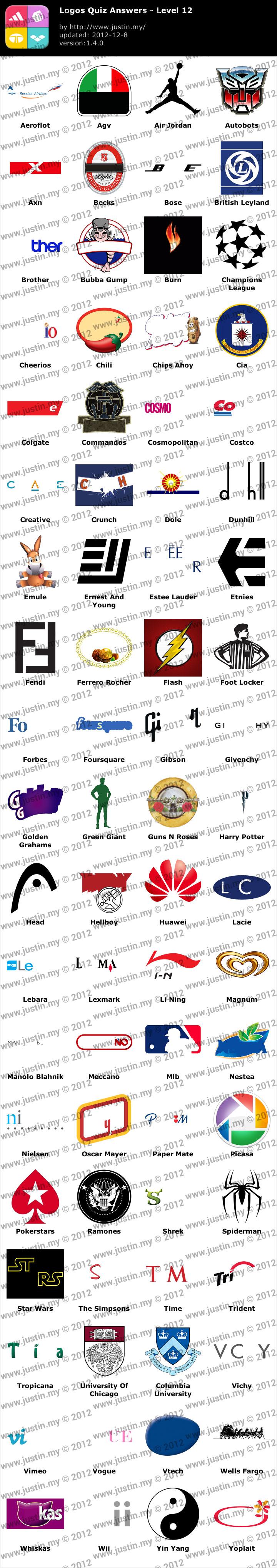 Logos Quiz Level 12