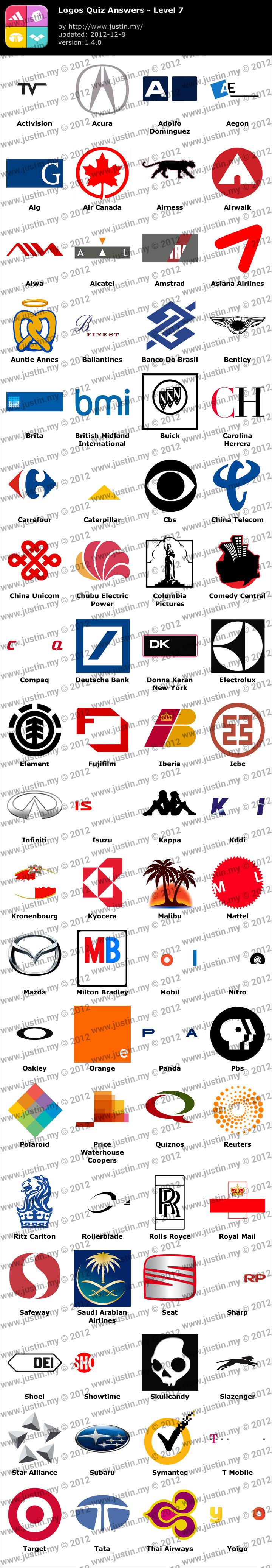 Logos Quiz Level 7