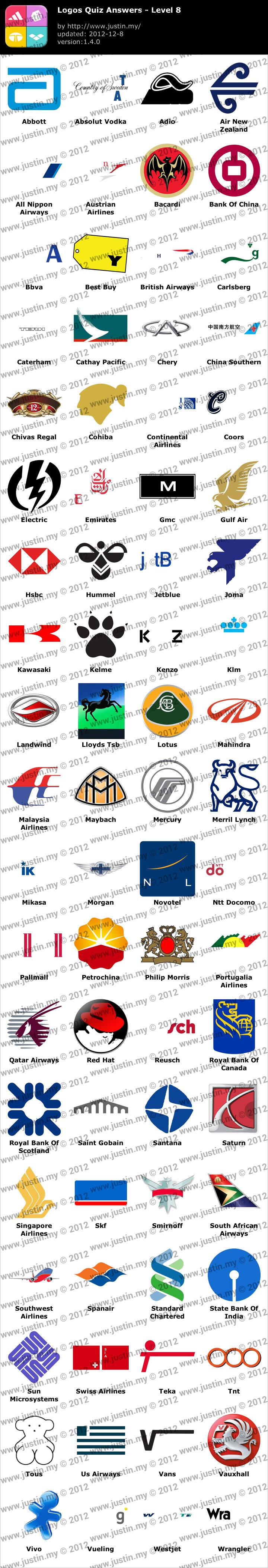 Logos Quiz Level 8