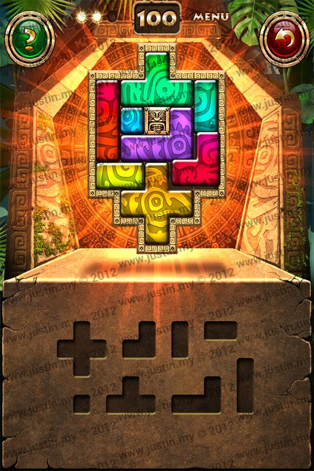 Montezuma Puzzle Level 100