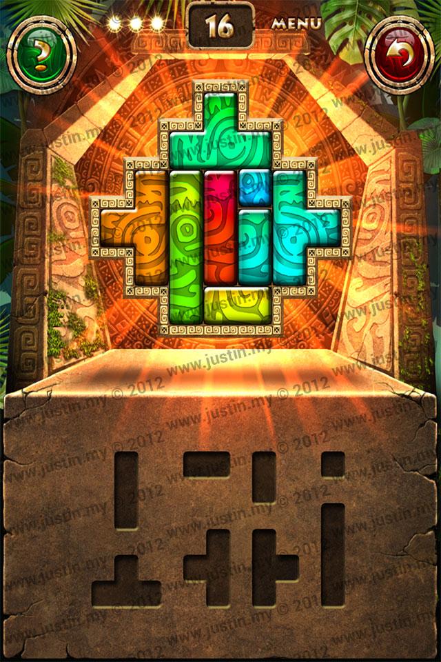 Montezuma Puzzle Level 16