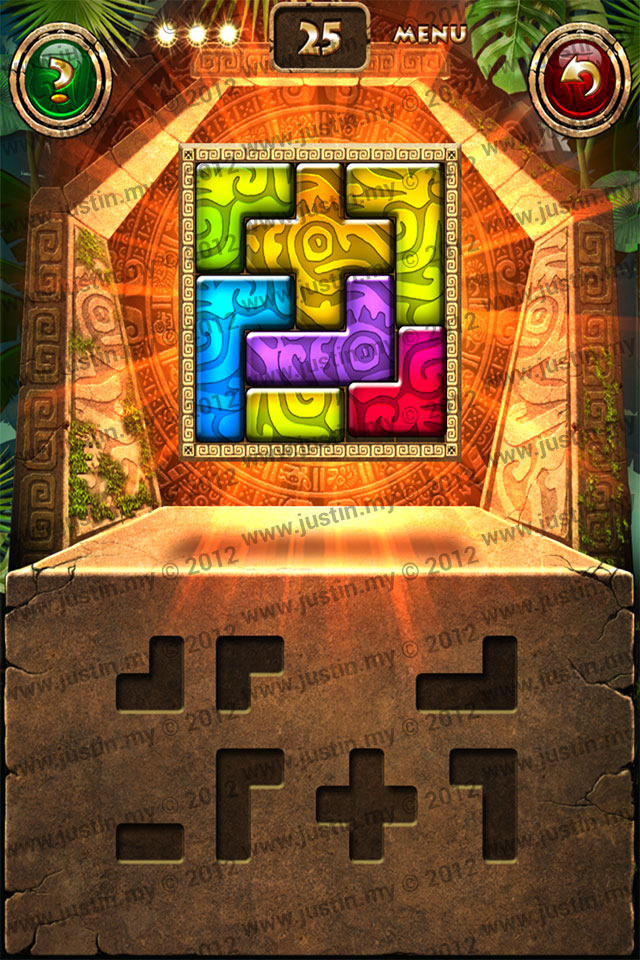 Montezuma Puzzle Level 25