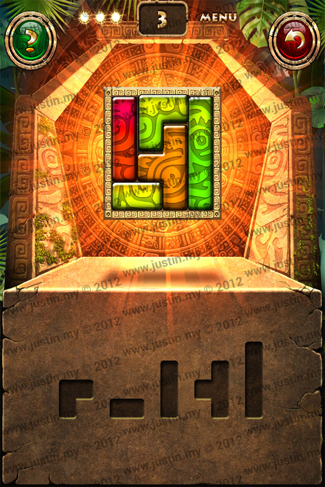Montezuma Puzzle Level 3