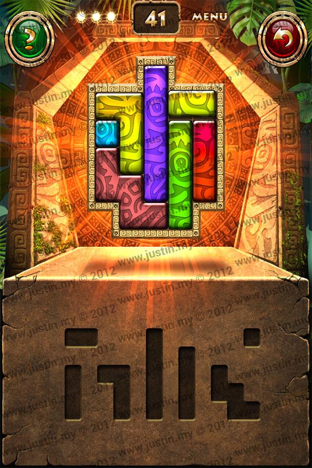 Montezuma Puzzle Level 41