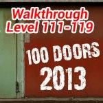 100 Doors 2013 Level 111-119 Update