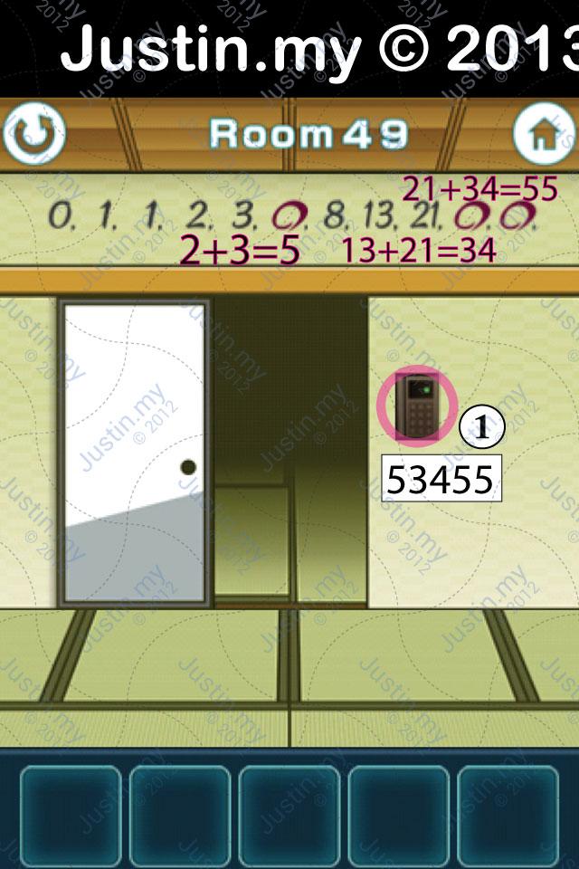 100 Fusumas Room 49