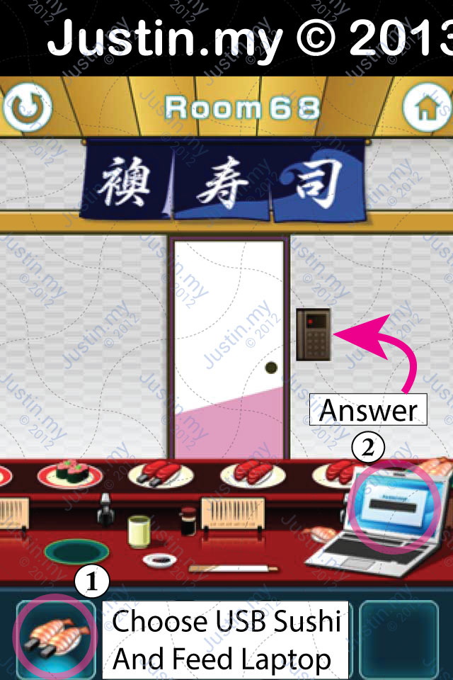 100 Fusumas Room 68