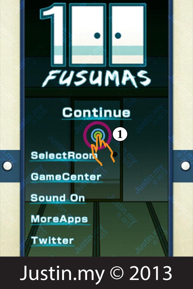 100 Fusumas Room 85